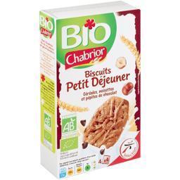 Biscuits petit déjeuner céréales pépites chocolat bi...