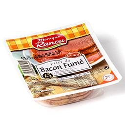 Filet de bacon fumé