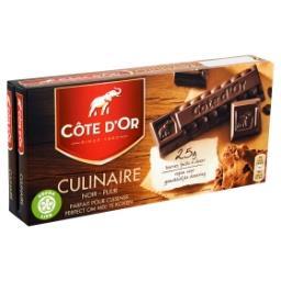 Tablette de chocolat culinaire - facile à doser