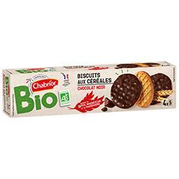Biscuits aux céréales chocolat noir BIO