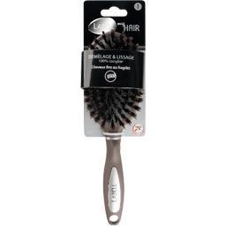 Brosse pour brushing céramique thermo-active