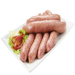Saucisses porc & boeuf