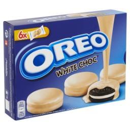 White choc - biscuits fourrés à la crème et enrobés ...