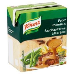 Sauce au poivre à la crème