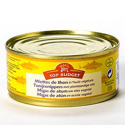 Miettes de thon à l'huile végétale