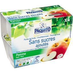 Purée de pomme sans sucres ajoutés