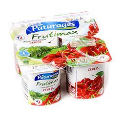 Frutimax - yaourt brassé sucré avec fruits - avec mo...