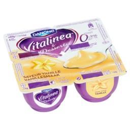 Crème dessert à 0,9% - saveur vanille