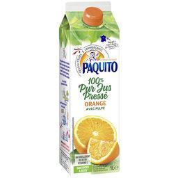 Jus d'orange avec pulpe - 100% pur jus