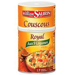Couscous royal 9 légumes