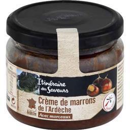 Crème de marrons de l'Ardèche avec morceaux