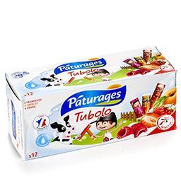 Tubolo - fromage blanc sucré aux fruits - fraise fra...