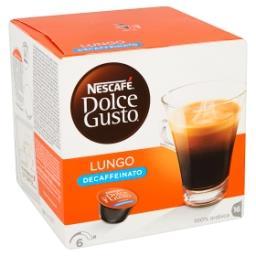 Dolce gusto - lungo decaffeinato - café capsules
