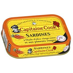 Sardines à l'ancienne à l'huile d'olive & piment d'E...