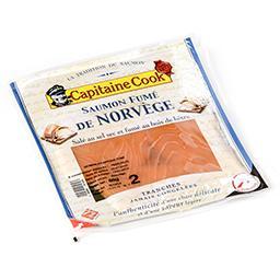 Saumon de norvège - salé au sel sec et fumé au bois ...