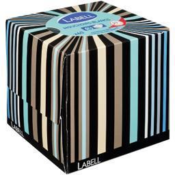 Mouchoirs cube adulte 3 plis, motifs assortis