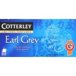 Thé noir earl grey aromatisé à la bergamote