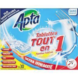 Tablettes de lavage tout en 1 pour lave vaisselle ci...