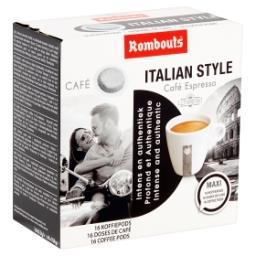Café Italian Style Café Espresso 16 Doses de Café