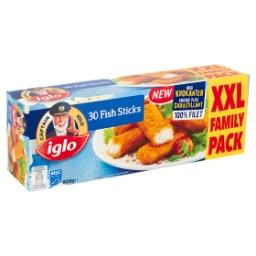 30 Fish Sticks XXL Family Pack