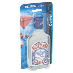 Poliakov - premium vodka - pure grain - triple disti...