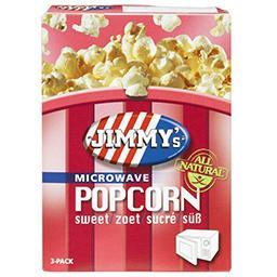 Popcorn sucré - au micro-ondes