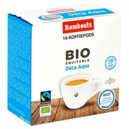 Bio Équitable Déca Aqua Maxi 16 Doses de Café