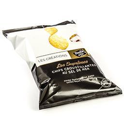 Chips croustillantes au sel de mer