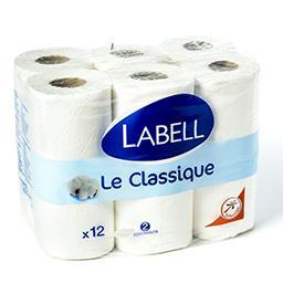 Le classique - papier toilette blanc 2 épaisseurs