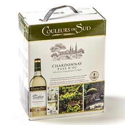 Vin blanc - chardonnay pays d'oc