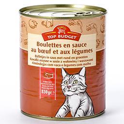 Boulettes en sauce au bœuf et aux légumes - pour cha...