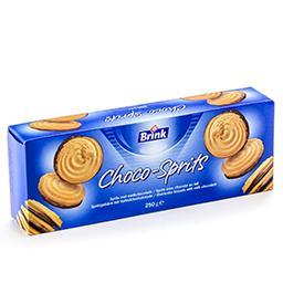 Choco-sprits avec chocolat au lait