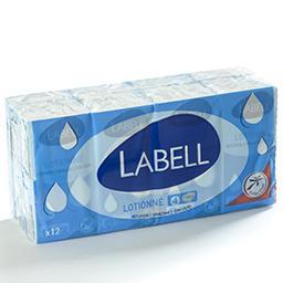 Mouchoirs en papier lotionnés