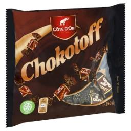 Chokotoff - caramels nappés de chocolat