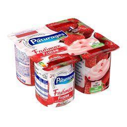 Frutimax - yaourt brassé sucré avec des fruits - ave...