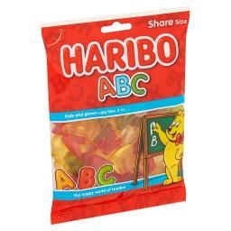 Abc - bonbons en forme de lettres et chiffres