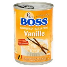 Riz à la crème vanille