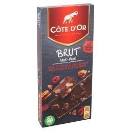 Chocolat - brut - noir - noix de pécan caramélisées ...