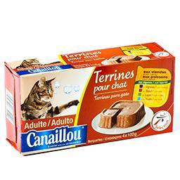 Terrines pour chats adultes