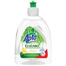Liquide vaisselle Ecolabel citron