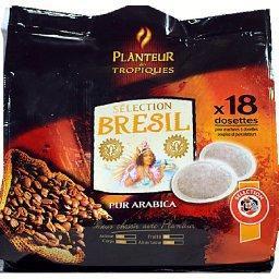 Sélection brésil, dosettes de café pur arabica