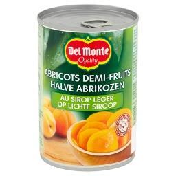Abricots demi-fruits au sirop