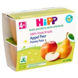 Biologique Pomme Poire 4+ Mois