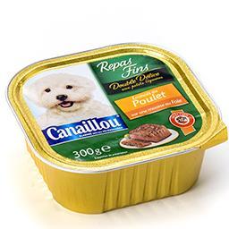 Repas fins pour chiens - double délice aux petits lé...