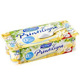 Printiligne - yaourt maigre aromatisé 0% - saveur va...