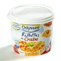 Rillettes au crabe - sans colorants - sans conservat...