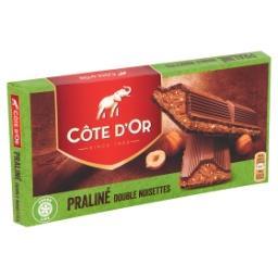 Tablette de chocolat au lait double noisettes