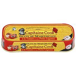 Filets de maquereaux à la tomate & aux petits légume...