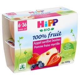 Dessert aux fruits - pommes, fraises, myrtilles - 6 ...