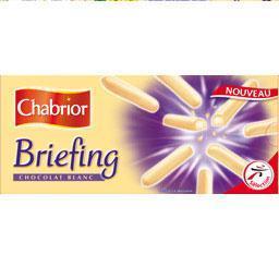 Briefing chocolat blanc